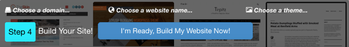 Wealthy Affiliate Site Builder - Step 4