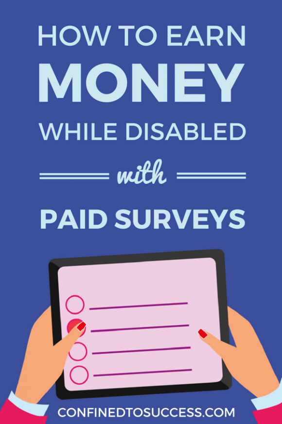 How To Earn Money While Disabled With Paid Surveys