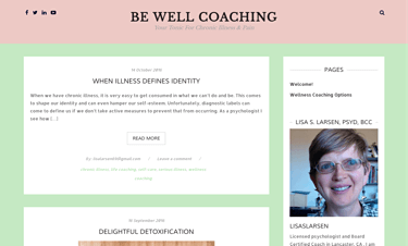 Be Well Coaching