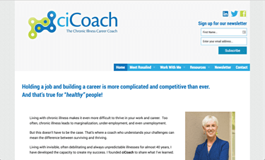 The Chronic Illness Career Coach