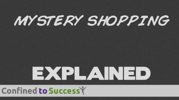 Become An Online Mystery Shopper