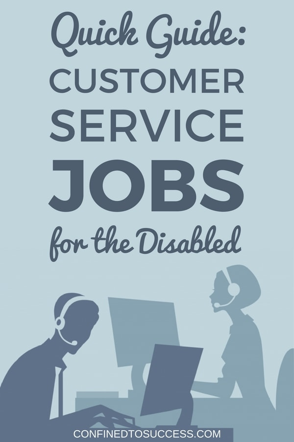 Customer Service Jobs For The Disabled