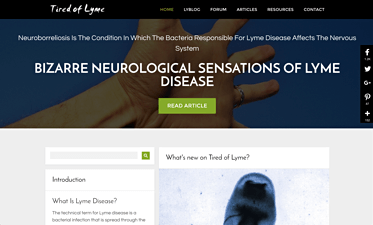 Tired Of Lyme