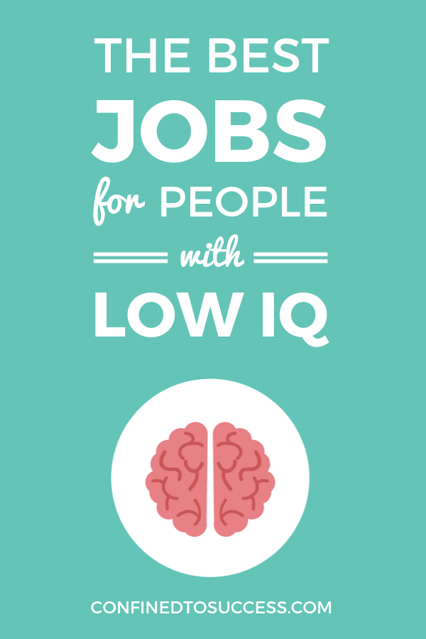 Best Jobs For People With Low IQ