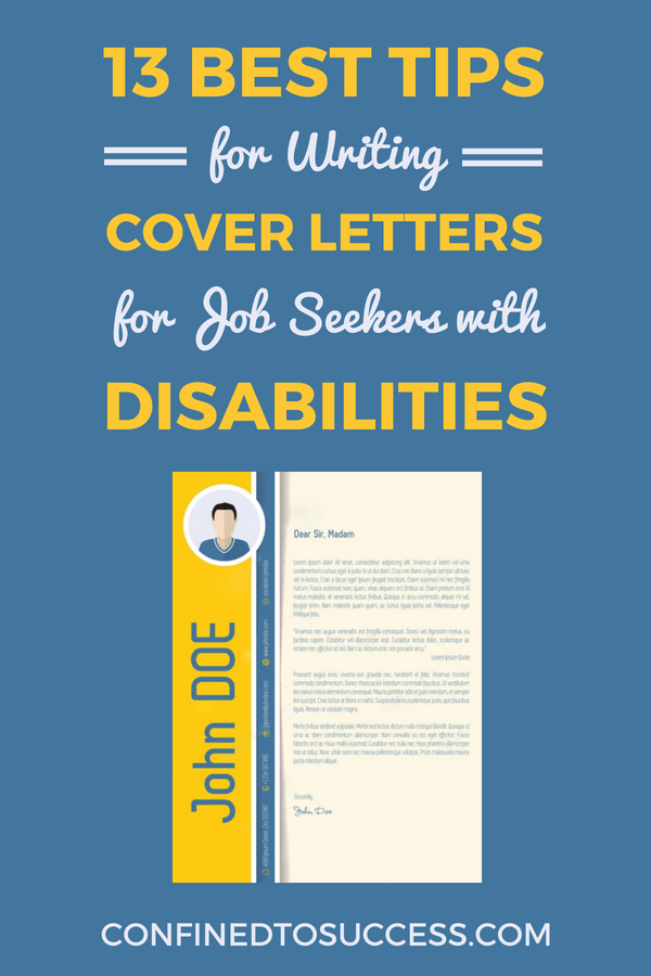 13 Best Tips For Writing Cover Letters Job Seekers With