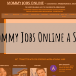Is Mommy Jobs Online A Scam?