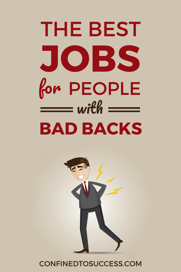 Jobs For People With Bad Backs